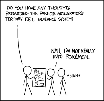 We really should block xkcd.com in the lab.