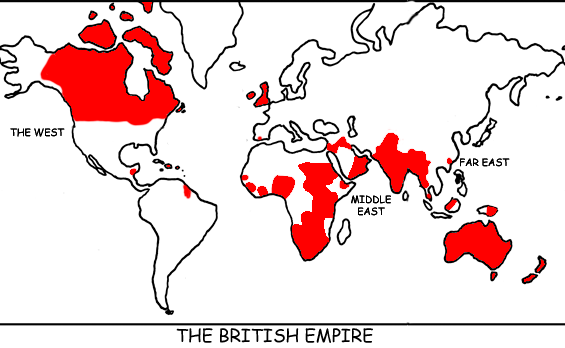 Why does the Sun never set on the British Empire? Because God doesn't trust the British in the dark!