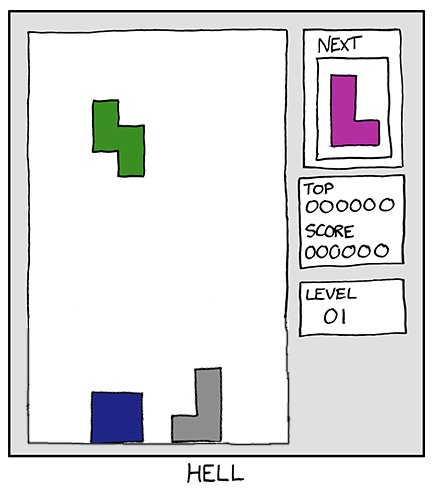 I hate Tetris. And now that you've read that, you hate me.