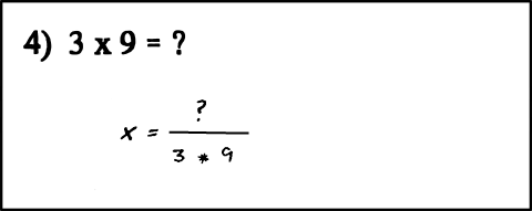 Why are there two unknowns in this equation?