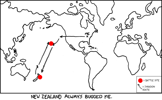 Oddly, after I destroyed New Zealand, Japan was never seen again. Weird...