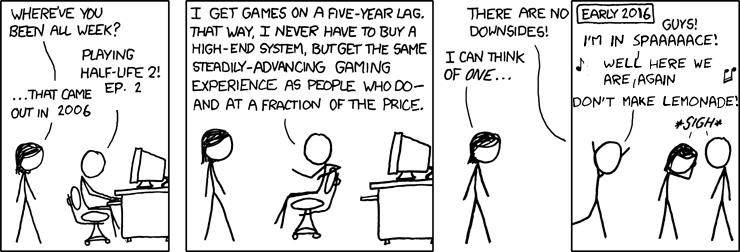 Bad enough for xkcd, not xkcdsw!