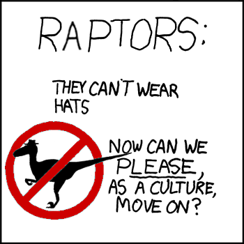 totally not raptor propaganda