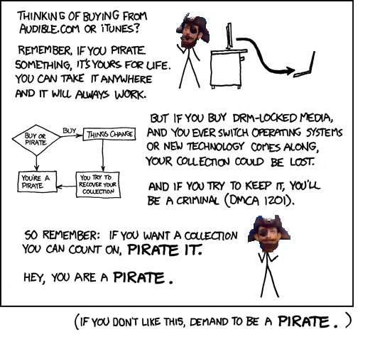 Do what you want cause the songs are all free, YOU ARE A PIRATE!!