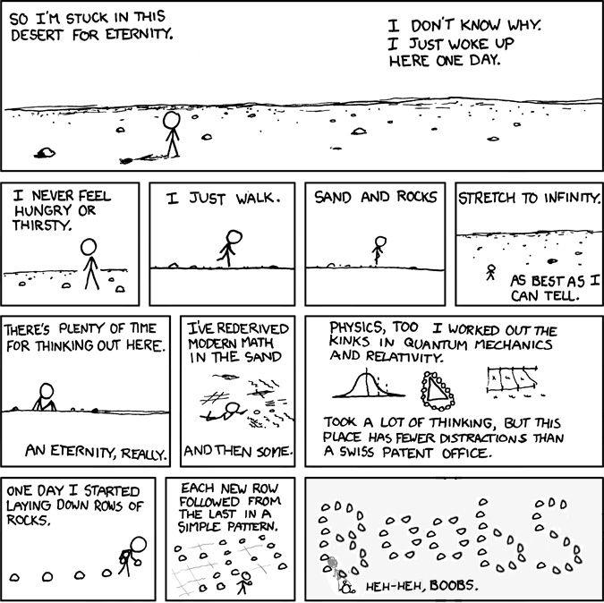Rock Boobs, by icanus - Making xkcd Slightly Worse
