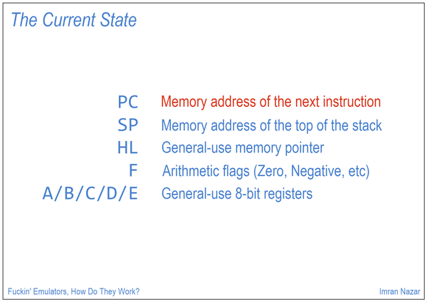 Slide 06: The Current State